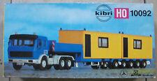 Kibri 10092 h0 1:87 MB ORO Hofer piattaforma profondamente caricatrici con container rarità