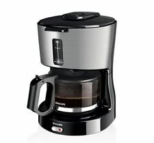 Philips Daily Collection Coffee Maker HD7450/00 BLACK & METAL