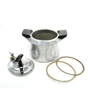 Vintage MinitMaid Magic Pressure Cooker Canning Aluminum Casting