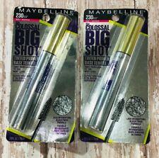 New listing Lot of 2 Maybelline The Colossal Big Shot Eyelash Tinted Primer Base #230 Black
