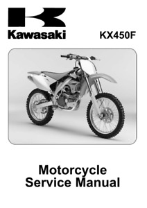 KX450F KX450R  2016 2017 2018 KAWASAKI Service Manual ebook