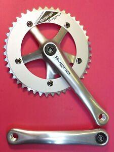 Sugino Messenger 165mm/44T Pista Bicicletta Set Catena -