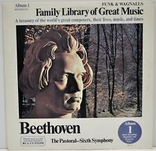 """Beethoven-The Pastoral -Sixth Symphony"" Family Library of Great Music RCA FW301"