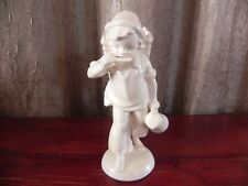 Porcelain Boy With Harmonica Pitcher Basket Figurine Katzhutte Hertwig & Co