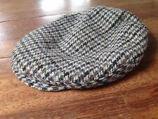 VINTAGE SHANDON IRELAND DONEGAL TWEED CAP NEWSBOY HAT - 7 3 8 - SIGNED BY ba32ed3a2bb9