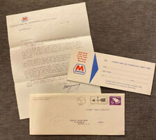 Sc U550 5c Eagle 1966 FDC - Marathon Oil Gas Commercial Use Encl Credit Card Ad