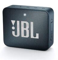 JBL GO2 BLUETOOTH SPEAKER CASSA USB AUX IN MUSICA DIFFUSORE AUDIO PORTATILE NAVY