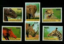 Guinea  1997  Fauna  Wildlife  Animals  6v MNH Set Unused stamps | AFRICA