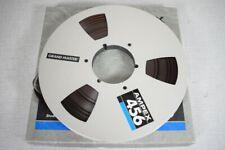 Sehr bekannte Ampex Grand Master 456 Tonband 0,5 inch auf 26cm Spule!!