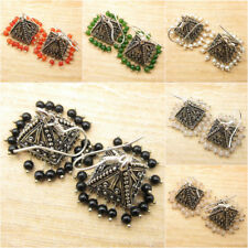 925 Silver Plated Black Onyx Jhumka Earrings Variations Listing, Many Choices