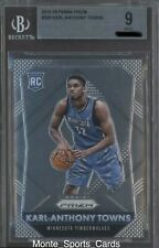 2015-16 Panini Prizm Karl-Anthony Towns Rookie #328 RC Timberwolves BGS 9 MINT!