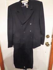 Navy Blue Jones New York Ladies Suit, Pants & Jacket, Size 14, Dry Clean, Lined