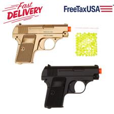 Airsoft Spy Handgun - Twin Pack Pocket Pistol Gun with Storage Case by BBTac