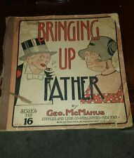 Bringing Up Father Comic By Geo. McManus Copyright 1929 Great Britain Series 16
