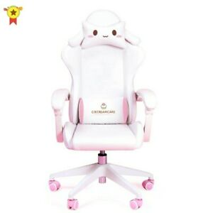 Cute cartoon chairs bedroom comfortable office computer chair home girls gaming
