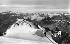 France - Les Contamines-Montjoie, Vue Prise du Mont Blanc - Vintage RP Postcard