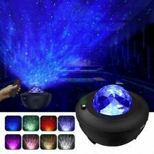 LED Projector Starry Night Lamp Star Blueteeth Projection Galaxy Night Light