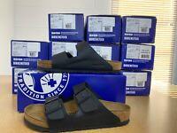 Birkenstock Women's Arizona sandals Black New