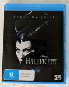 MALEFICENT 3D Blu-ray Region B oz seller australia Disney angelina jolie