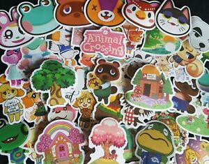 Animal Crossing Stickers 25/50 Tom Nook Miles Tickets Racoon Kid Reward Party