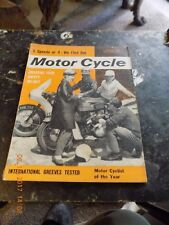 Motor Cycle/2,aug,62/greeves i.s.d.t .test/works tips/5 speeds or 4 test