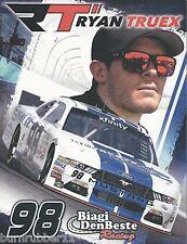 "2015 RYAN TRUEX ""BIAGI DENBESTE RACING"" #98 NASCAR XFINITY SERIES POSTCARD"