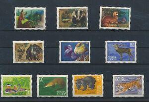 LN30472 Russia animals fauna flora wildlife fine lot MNH