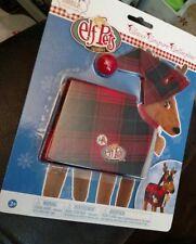 Elf on the Shelf Elf Pets Claus Couture Fa-La-La Reindeer Pajamas Red Plaid PJ's