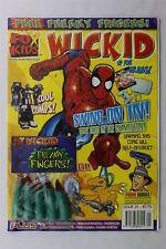 Fox Kids wickid MAGAZINE #21 2001 pour enfants cadeau SPIDER-MAN Digimon PANINI