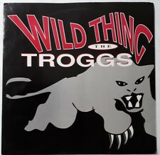 """The Troggs-Wild Thing/2B Productions-Ghost Train 12"""" Single.Big Wave BWRT 27."""