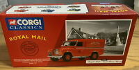 CORGI CLASSICS 1:43 LAND ROVER CLOSED - ROYAL MAIL   07401 Mint In Box With Cert