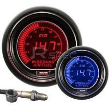 Prosport 52mm EVO Car Wideband Air Fuel Ratio AFR Red Blue LCD Digital Display