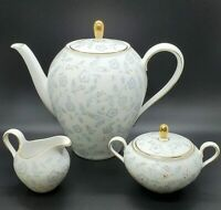 Rare Vintage Coffee Teapot w/Creamer and Sugar Set Seltmann Weiden Bavaria