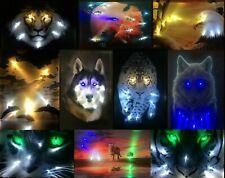 LED Bild mit Beleuchtung Wandbild Leinwandbild led leucht bild Samarkand-Lights