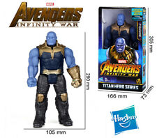 12' Marvel Avengers Infinity War Thanos With Power FX Port Action Figures Toy