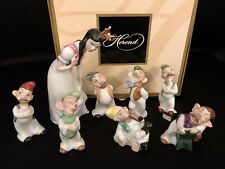 """HEREND Disney """"Snow White and the Seven Dwarfs"""" Complete Set (15700, 15705) RARE"""