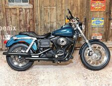 Harley-Davidson 2004 Dyna Super Glide Sport 1:12 Escala Modelo Juguete Moto Bicicleta