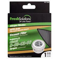 Fresh Solutions Bissell 9-10-12-16 HEPA Vacuum Filter Allergen Filtration