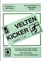 RL 1995/96 FSV Velten 90 - FC Rot-Weiss Erfurt, 23.03.1996