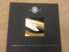 """Spyker Brochure """"Charting Uncharted Territory"""" NEW"""