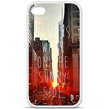 Coque housse étui tpu gel motif sunny side Iphone 4 / 4S