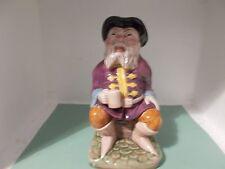 Vintage  Melba Ware  Tale Teller  Character Toby Jug 20cm high