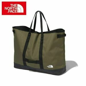 THE NORTH FACE Fildendes Gear Large Tote Bag Green Outdoor Camping Japan NEW