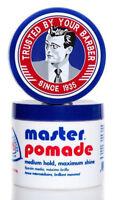 Master Pomade Medium Hold Max Shine 4oz.