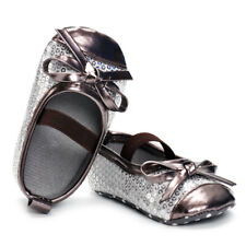 Baby Girl Bow Sandals Flat Heel Toddler Princess Summer Party Wedding Shoes