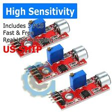 3X Microphone Sensor High Sensitivity Sound Detection Module for Arduino PIC AVR