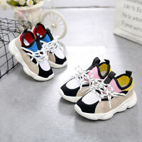 Toddler Baby Boy Girl Children Shoes Kids Sneakers Mesh Breathable Sport Shoes