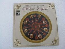 Songs of Kazi Nazrul Feroza Begum EASD 1394 Bengali LP Record India NM-1437