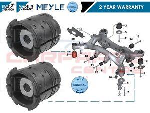 FOR BMW REAR AXLE UPPER SUBFRAME SUB FRAME FRONT BUSH BUSHES MEYLE 33316758259