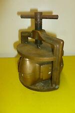 moule de prothésiste dentaire en bronze époque 19éme
